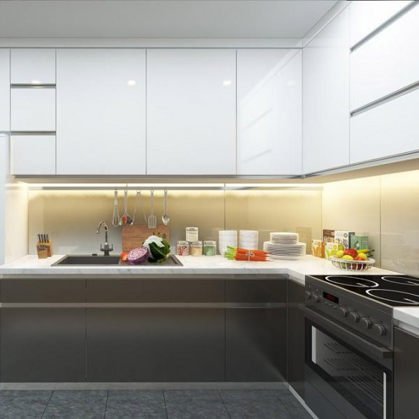 Màu sắc phong phú tô điểm không gian bếp sang trọng..XEM >>