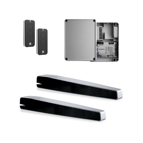 Sản phẩm đơn giản, dễ cài đặt, phù hợp hệ thống cửa có tải trọng nhẹ dưới 500kg nhưng vẫn đảm bảo sự an toàn và độ tin cậy cao