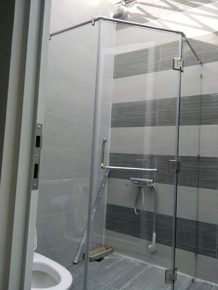Thiết kế phù hợp giúp không gian phòng tắm trở nên thông thoáng sang trọng và tiện nghi hơn bao giờ hết.