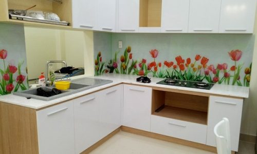 Kính tranh bếp in 3D